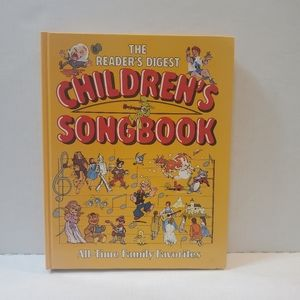 The Readers Digest 1985 Childrens song book